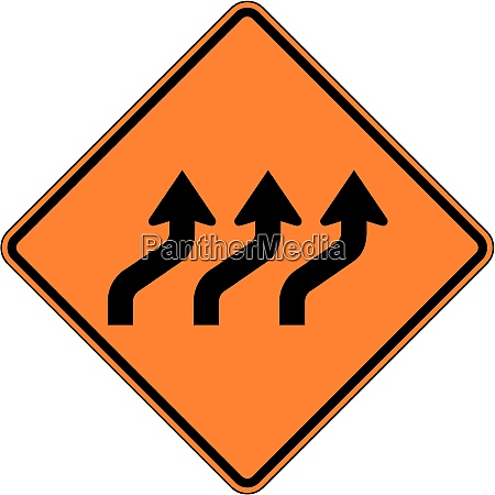 reverse curve three lanes