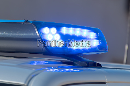 detail shot of a glowing blue
