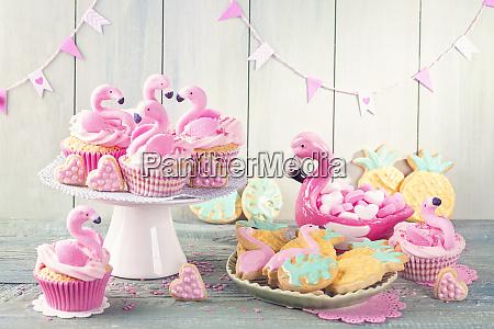flamingo ananas cookies