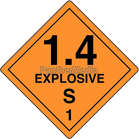 explosive, materials, , 1.4s - 26205554