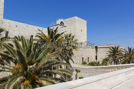 swabian castle of trani puglia italy
