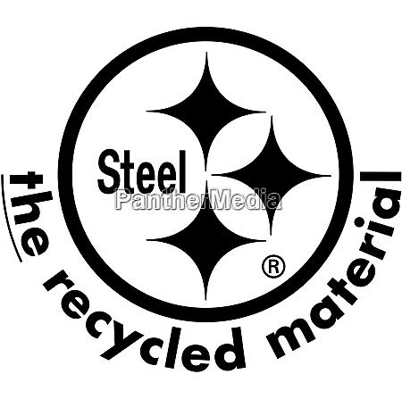 the recycled material