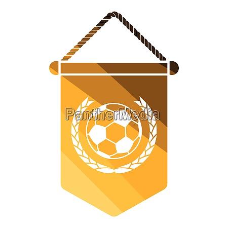 football pennant icon football pennant icon