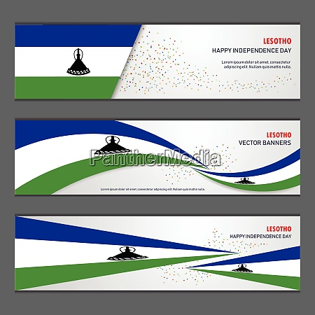 lesotho independence day abstract background design