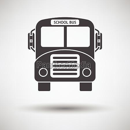 school bus icon school bus icon