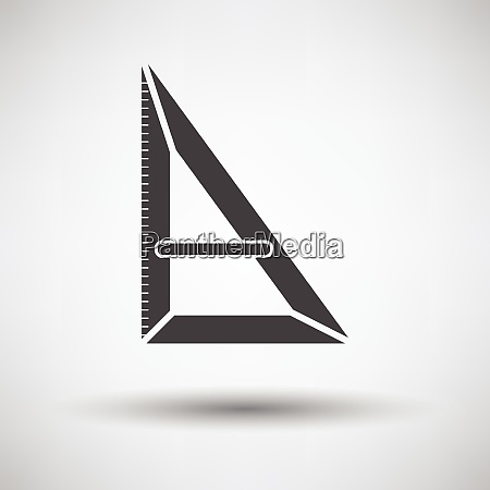 triangle icon triangle icon on gray