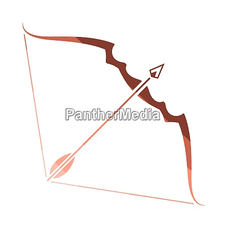 bow and arrow icon bow and