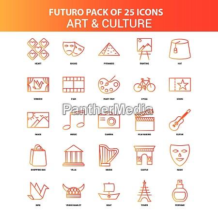 orange futuro 25 art and culture