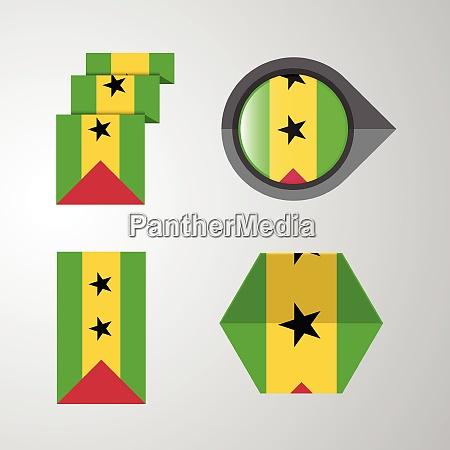 sao tome and principe flag design