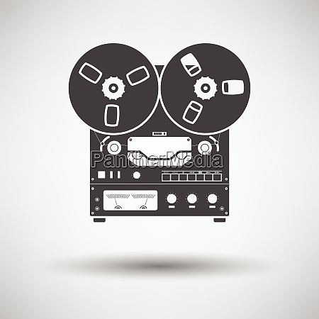 reel tape recorder icon reel tape