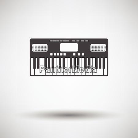 music synthesizer icon music synthesizer icon