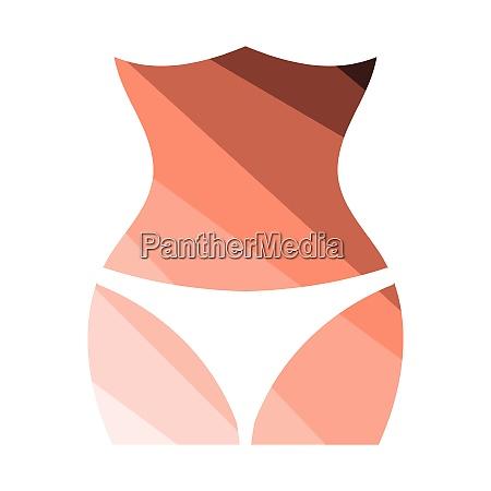 slim waist icon slim waist icon
