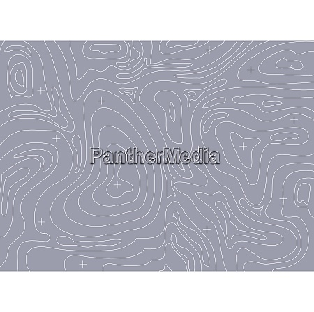 abstract vector contour topographic map background