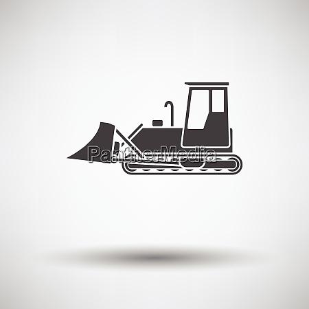 icon of construction bulldozer icon of