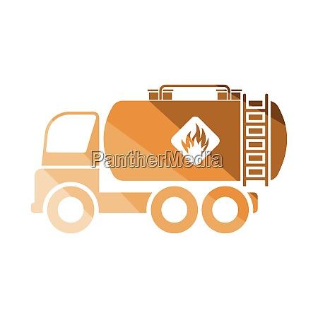 oil truck icon oil truck icon