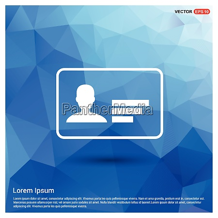 personal id card icon free