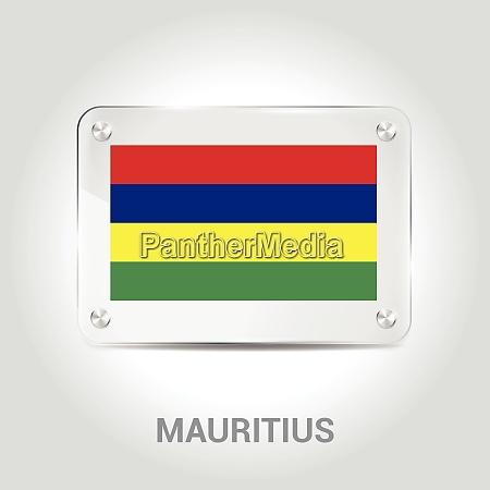 mauritius flag design vector