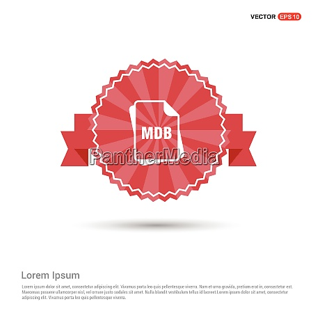 file, type, icons, -, red, ribbon - 26234826