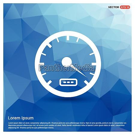 speedometer icon free vector icon