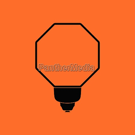 icon of portable fashion flash orange