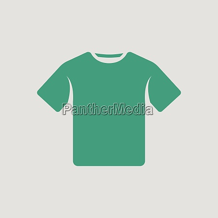 t shirt icon gray background with