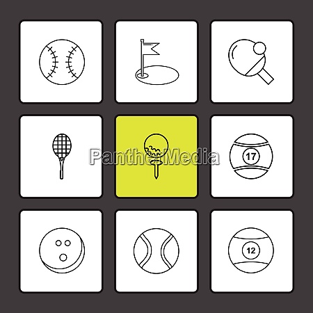 ball table teniss racket
