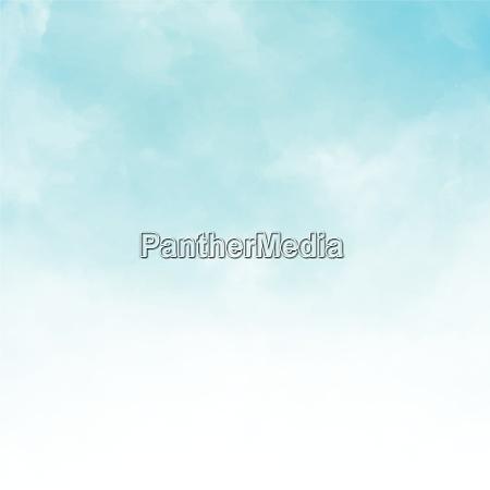 white cloud detail in blue sky