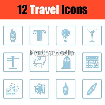 travel icon set travel icon set