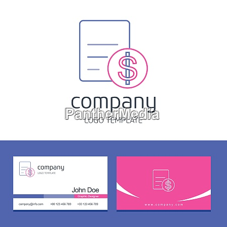 business card design with arrows company