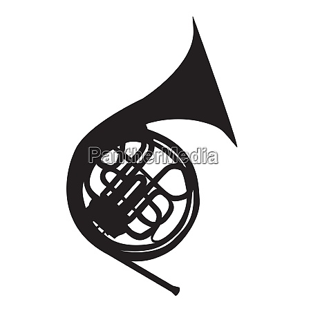 musical instrument horn which is used