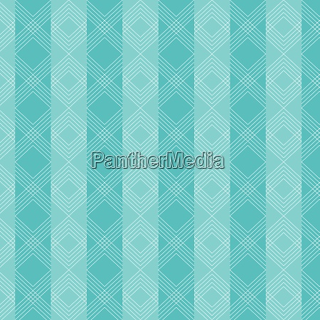 triangles wavy lines pattern on blue