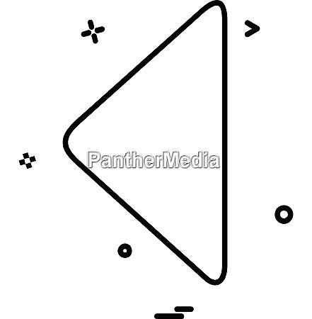 arrows icon design vector
