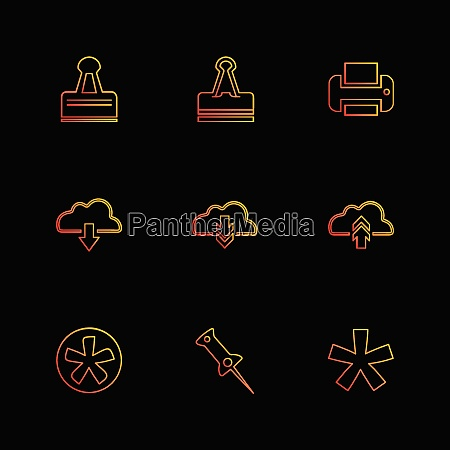 user interface application icons