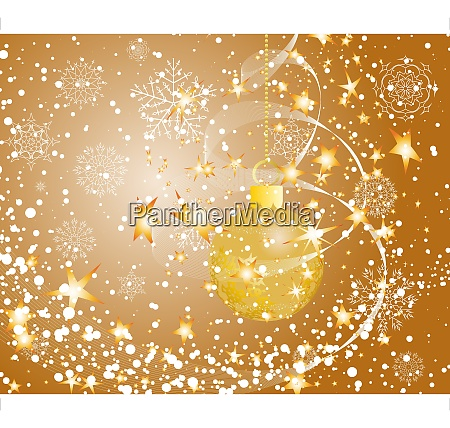 beautiful vector christmas new year background