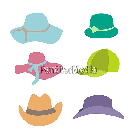 summer fashion beach accessories hats collection
