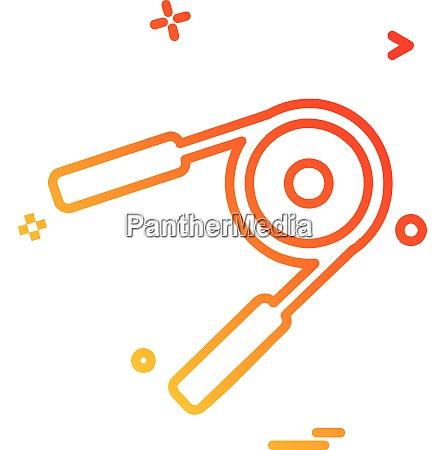 wrist icon design vector
