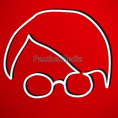 person with glasses