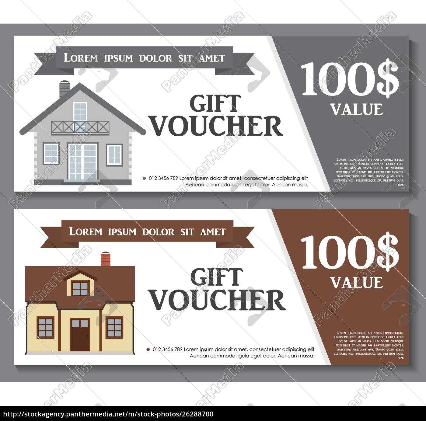 Gift Voucher Template with variation of House Discount - Royalty For Free Photography Gift Certificate Template