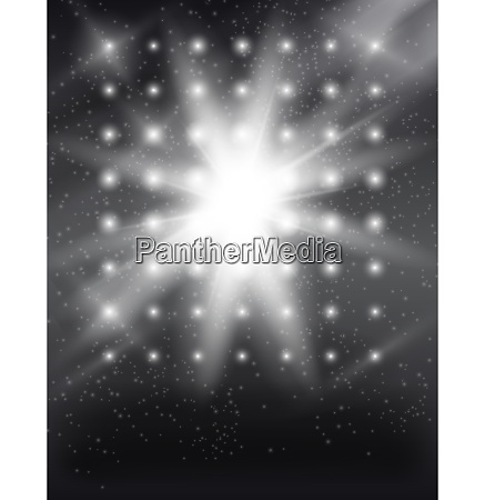 shining abstract art background vector illustration