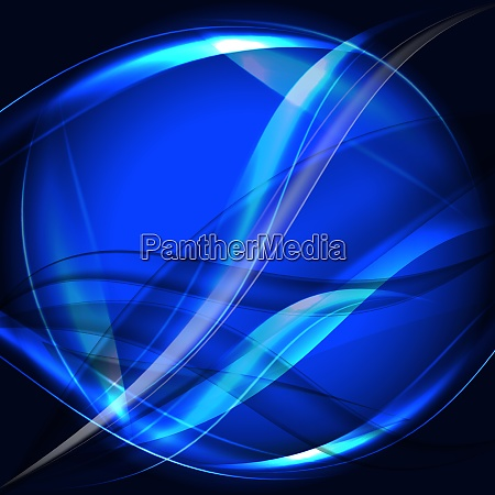 blue abstract art background vector illustration
