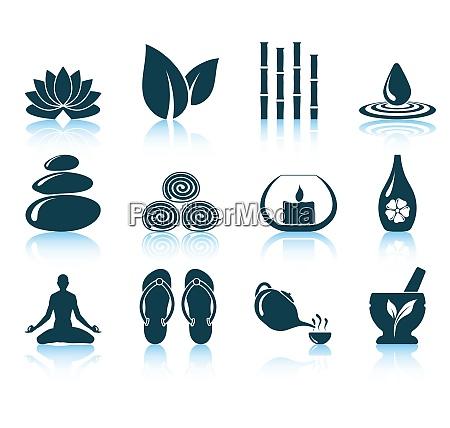 set, of, spa, icons., eps, 10 - 26292350