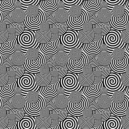 black and white seamless pattern abstract