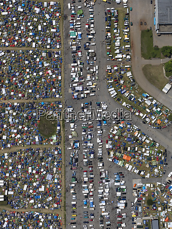 aerial view of southside festival neuhausen