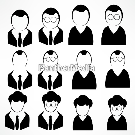 manager vector icon