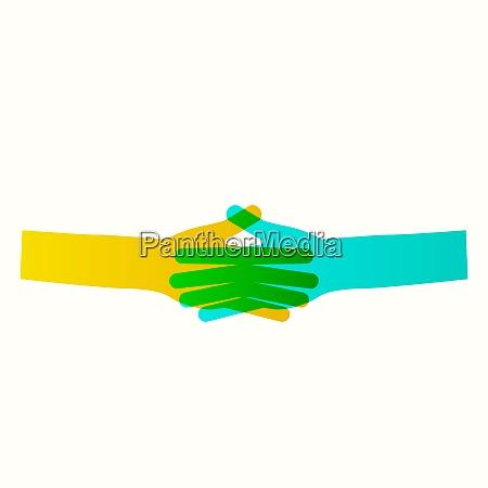 business icon handshake transaction