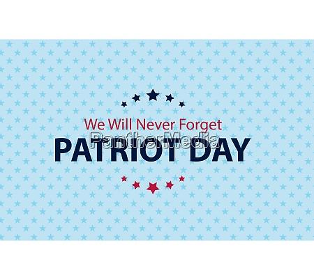 patriot day background september 11 poster