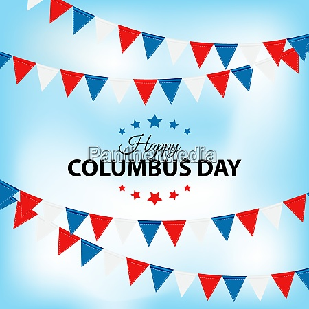 columbus day background vector illustration eps10