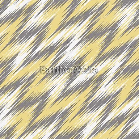 seamless zigzag ikat pattern vector background