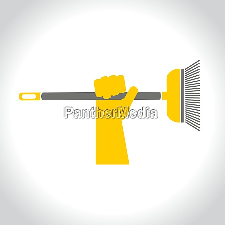 cleaning repairs vector icons