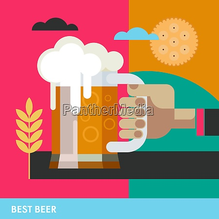 the best beer hand holds mug